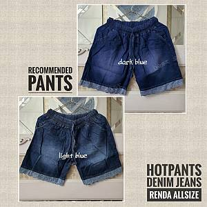 Hotpen Denim Jeans 2Color Renda Allsize