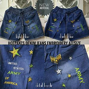 Hotpen Denim Jeans Embroidery Allsize