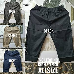 7-8 Legging Khaki Stretch Allsize