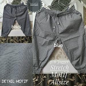 7-8 Jogger Motif Strecth Allsize