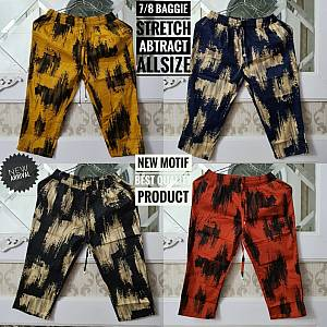 7-8 Baggie Abstract Stretch Allsize