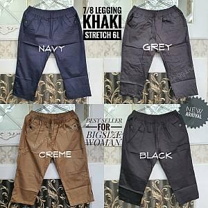 7-8 Legging Khaki Stretch 6L