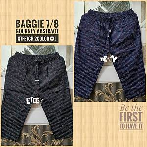 Baggie 7-8 Gourney Abstract Strectch 2Color XXL