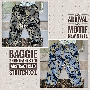Baggie Shortpants 7-8 Abstract Cleo Stretch XXL