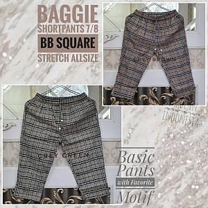 Baggie Shortpants 7-8 BB Square Stretch Allsize
