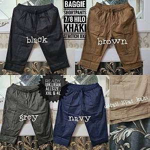 Baggie Shortpants 7-8 Hilo Khaki Stretch XXL