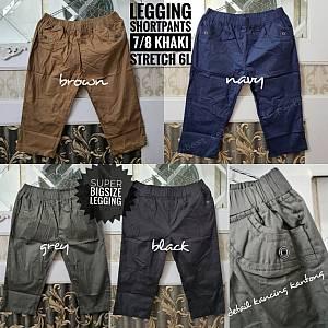 Legging Shortpants 7-8 Khaki Stretch 6L