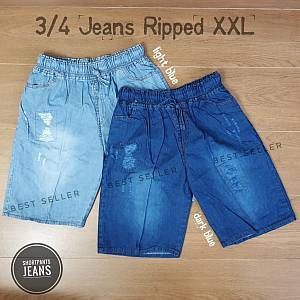 3-4 Jeans Washed Ripped XXL