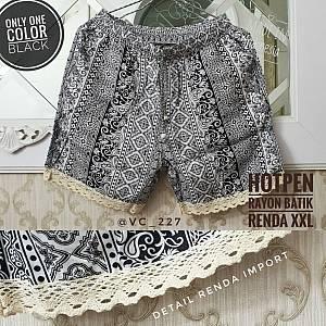 Hotpen Rayon Batik Renda XXL