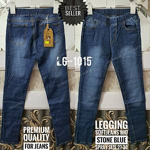 Legging Softjeans Bio Stone Blue Spray Size 27-30