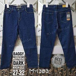 Baggy Boyfriend Dark Wash Size 27-32