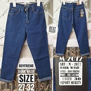 Boyfriend Dark Wash Jeans Size 27-32