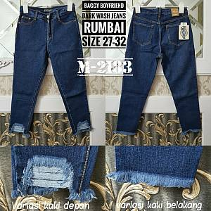 Baggy Boyfriend Dark Wash Rumbai Size 27-32