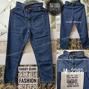 Baggy Jeans Dark Blue Size 27-32