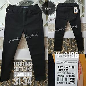 Legging Softjeans Black Size 31-34