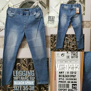 Legging Softjeans Bio Bleach Spray Size 35-38