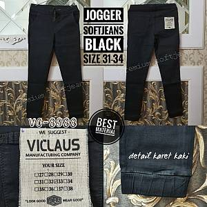 Jogger Softjeans Black Size 31-34
