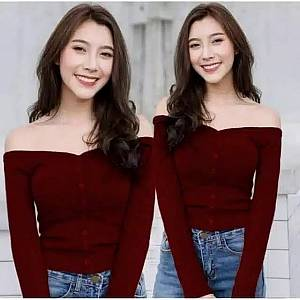 Kimberly button top